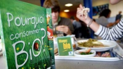 Organic food to become standard in French canteens