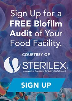 Biofilms bring safety challenges to food companies