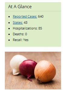 The latest food recall: onions
