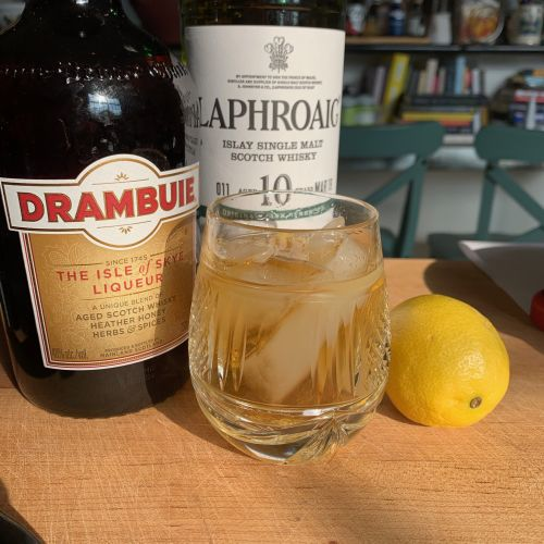 Friday Cocktail Hour: The Rusty Nail