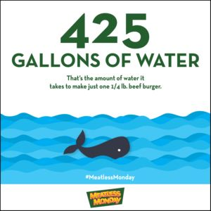 Meatless Monday Is One of Many Ways to Celebrate World Water Day!