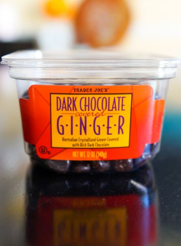 Sweet on Trader Joe's: Dark Chocolate Covered Ginger