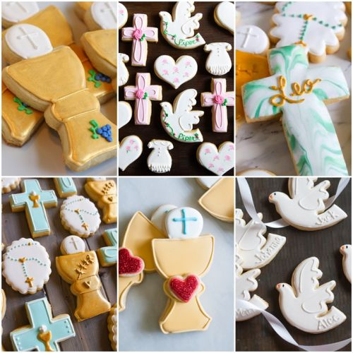 Wednesday Replay: Baptism, First Communion, and Confirmation Decorated Cookies