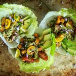 Paleo Sweet Potato and Turkey lettuce cups