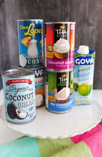 Nuts for Coconuts.milk, cream, water!