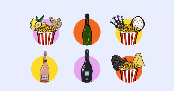 How to Upgrade Your Popcorn Nights With Bubbly