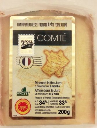 Firm ripened Comté cheese recalled in Canada for Listeria