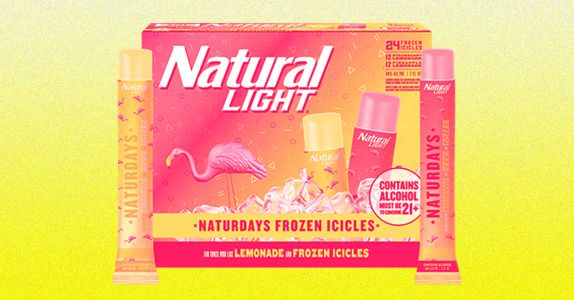 Natty Light Released 'Naturdays' Flavored Boozy Popsicles