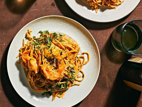 Run, Don't Walk, for This Pasta Inspired by Jamaican Rundown