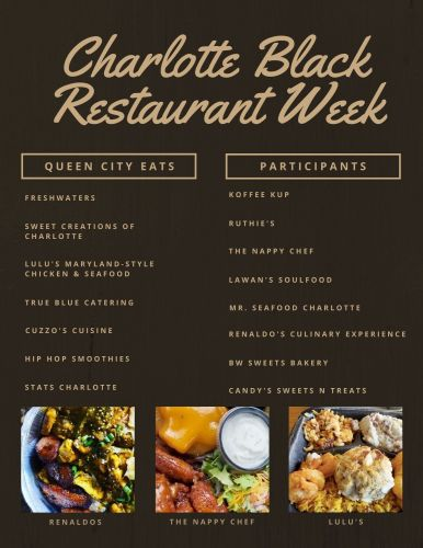 Charlotte Black Restaurants Week runs October 19 - 31