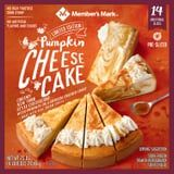 Sam's Club's Whopping 4.5-Pound Pumpkin Spice Cheesecake Comes With Spiced Whipped Cream