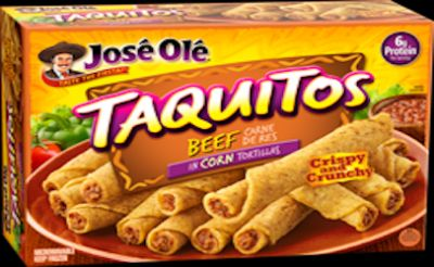 """17 and half tons of Jose' Ole' beef taquitos recalled for """"extraneous materials"""""""