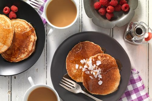 Quinoa Pancakes: Protein-packed and delicious