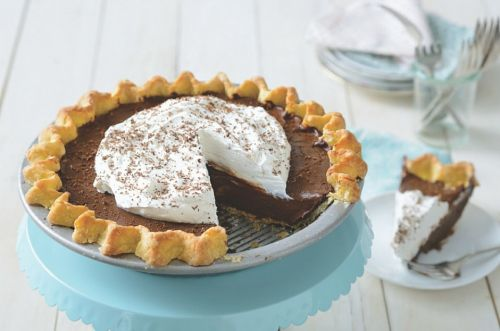 Gluten-Free Chocolate Cream Pie: Perfectly smooth and decadent
