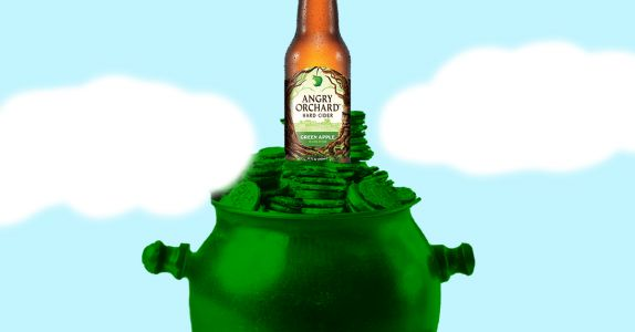 Angry Orchard Is Giving Away $500 in Bitcoin to 17 Lucky Drinkers on St. Patrick's Day