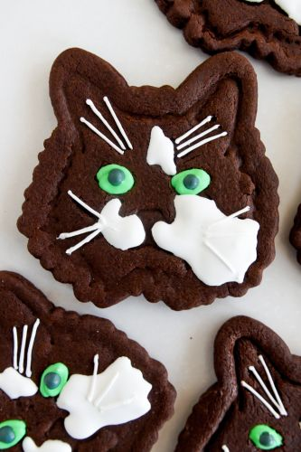 Custom Spike the Cat Cookies