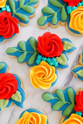 Autumn-Inspired Floral Cookies and a Total Game-Changer