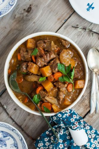 Classic Beef Stew with Root Vegetables