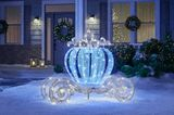 Home Depot Is Selling Sparkling Carriage Decorations, So You Can Put a Cinderella Twist on the Holidays