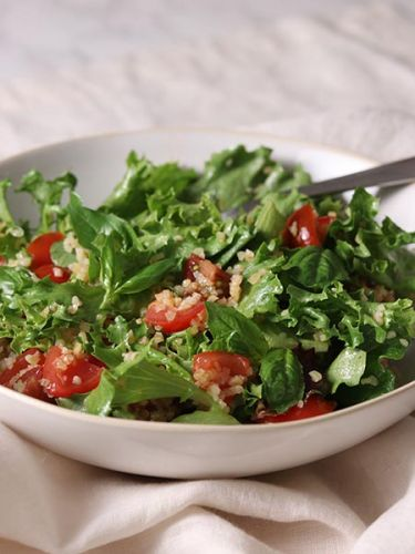 Two summery grain salads from The Healthy Cook