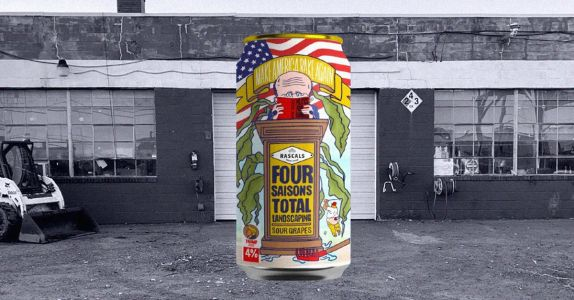 Rudy Giuliani Gets Canned: Say Hello to Four Saisons Total Landscaping Beer