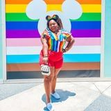 Disney Springs Is Showing Its Pride This June With Colorful Photo Walls and a Mural!