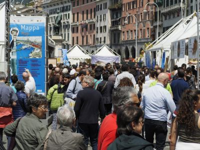 Slow Fish 2017 in Genoa: We are the net!