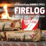 KFC's Fried Chicken Firelog Smells Like 11 Herbs and Spices, So Someone Pass the Biscuits