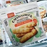 People Are Very Into Aldi's New Cauliflower Breadsticks That Are Covered in Garlic Butter