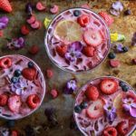Berry Rhubarb Coconut Vodka Lemonade Punch - VR 360 VIDEO