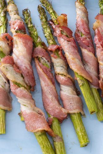 Bacon Wrapped Air Fried Asparagus