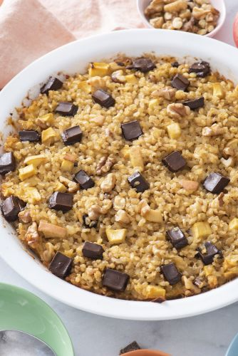 Breakfast Rice Bake
