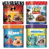 4 New Disney and Pixar Ice Cream Flavors Are Hitting Shelves, Including Cookies and Scream