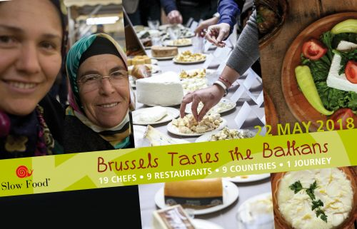 Brussels Tastes the Balkans: Discovering the Rich Gastronomic and Agricultural Heritage of South Eastern Europe