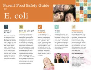 One Stop Shopping for information on E. coli, Hepatitis A, Listeria and Salmonella