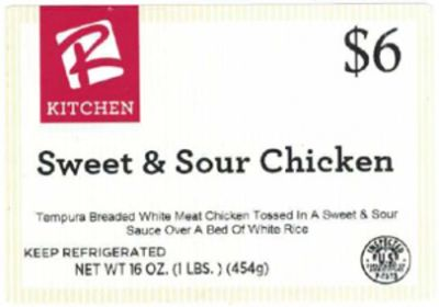 Feds find potential process defect; chicken bowls recalled