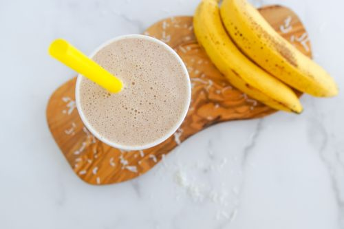 Coconut Butter-Banana Smoothie