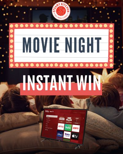 Movie Night and Smart TV Instant Win