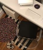 I Love This Purple Seat Cushion While Working From Home, 'Cause I Don't Diss Comfort
