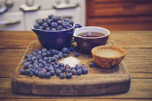 Lacto-Fermented Blueberry Jam