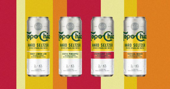 Coca-Cola and Molson Coors Team Up for Topo Chico Hard Seltzer Release