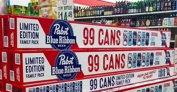PBR's 99-Pack is Back and Finally Available in the U.S