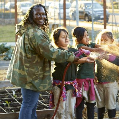 The Urban Farm Program Educating and Uplifting East Oakland Kids
