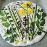The Focaccia Bread Art Trend Turns Simple Loaves Into Beautiful Garden Landscapes