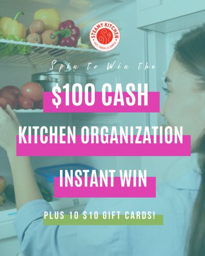 $100 Kitchen Organization Instant Win Game