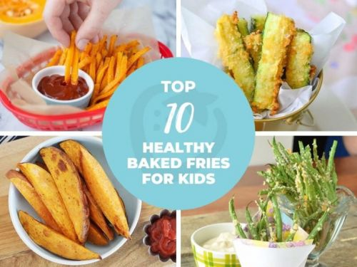 Top 10 Healthy Baked Fries for Kids