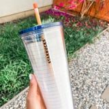 Starbucks's Teacher-Inspired Notebook Tumblers Come With Reusable Pencil Straws