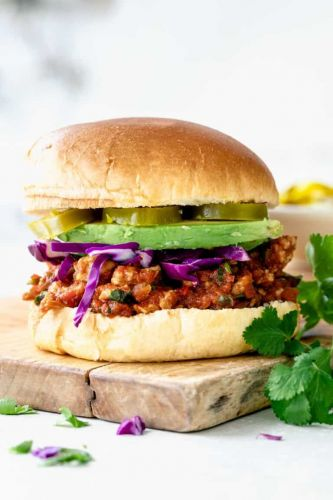Chicken Taco Sloppy Joes