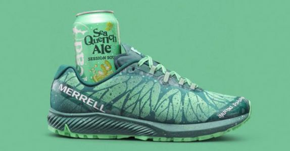 Dogfish Head's SeaQuench Ale Is Now a Shoe