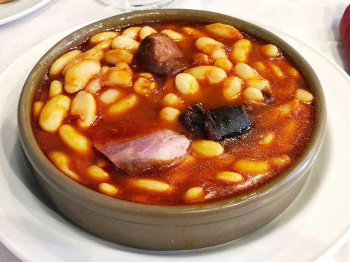 Fabada Asturiana (White Beans With Ham, Saffron, and Sausages)
